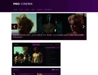 procinema.ro screenshot