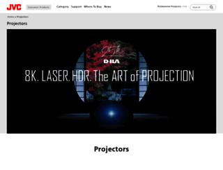 procision.jvc.com screenshot