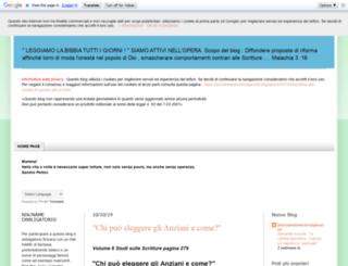 proclamatoreconsapevole.blogspot.de screenshot