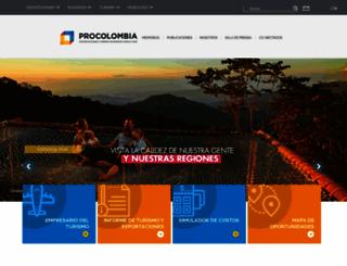 procolombia.co screenshot