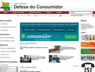 procon.ac.gov.br screenshot