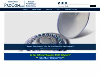 procon.org screenshot
