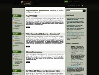 procrastinationamplification.com screenshot