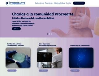 procrearte.com screenshot