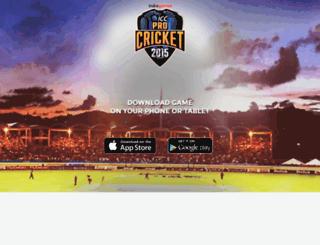 procricket2015.com screenshot