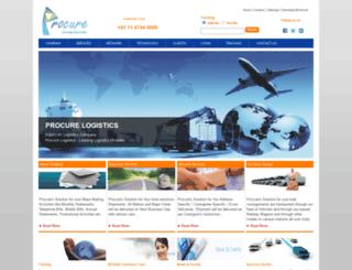 procurelogistics.com screenshot