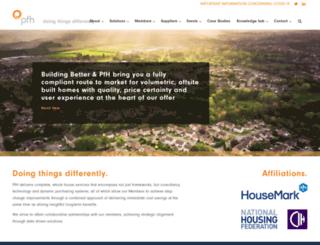 procurementforhousing.co.uk screenshot