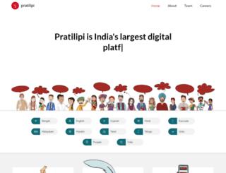 prod-pratilipi.appspot.com screenshot