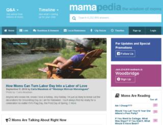 prod.mamapedia.com screenshot