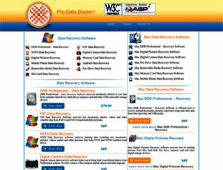 prodatadoctor.com screenshot