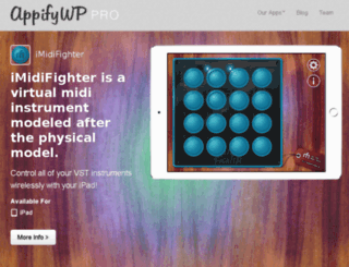 prodemo.appifywp.com screenshot