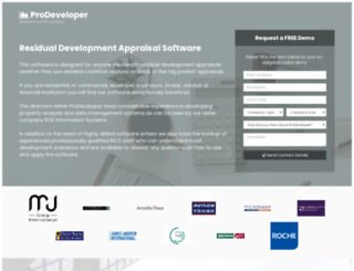 prodeveloper.co.uk screenshot