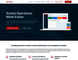 prodigyschoolportal.com screenshot