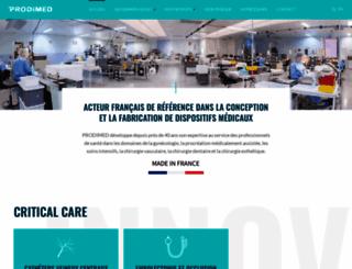 prodimed.com screenshot
