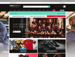 prodirectrugby.com screenshot