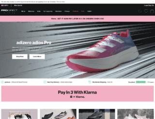 prodirectrunning.com screenshot