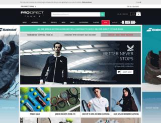 prodirecttennis.com screenshot