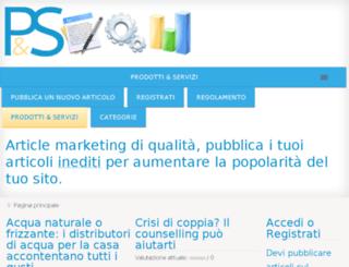 prodottieservizi.net screenshot