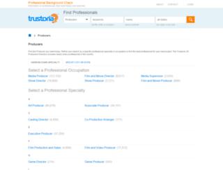 producer.trustoria.com screenshot