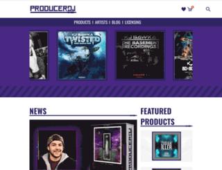 producerdj.com screenshot