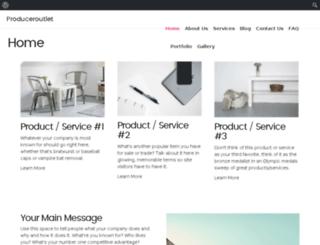 produceroutlets.com screenshot