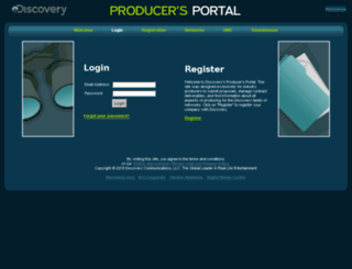 producers-qa.discovery.com screenshot
