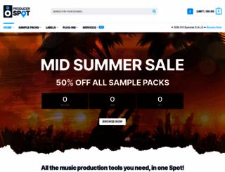 producerspot.com screenshot