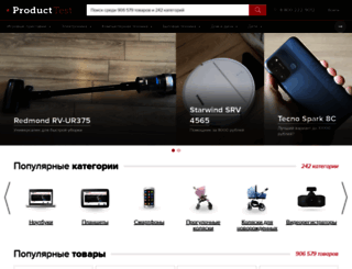 product-test.ru screenshot