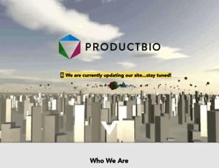 productbio.com screenshot