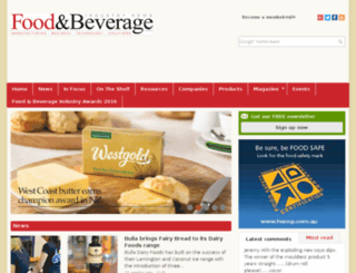 production.foodmag.com.au screenshot