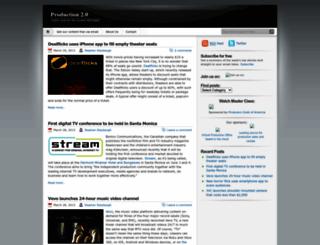 production2blog.wordpress.com screenshot