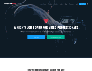 productionbeast.com screenshot