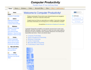 productivity.ben61a.com screenshot