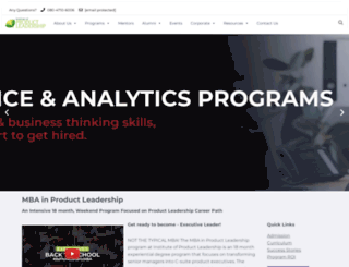 productleadership.in screenshot