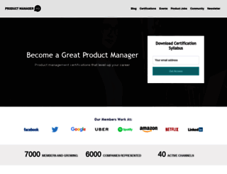 productmanagerhq.com screenshot