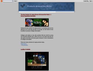 productoftheworld.blogspot.com screenshot