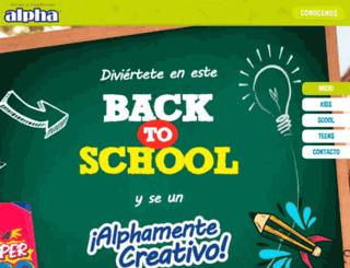 productosalpha.com.pe screenshot