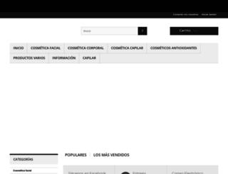 productosantienvejecimiento.com screenshot