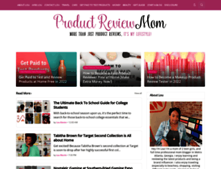 productreviewmom.com screenshot