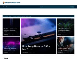 products.enterprisestorageforum.com screenshot