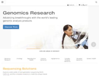 products.illumina.com screenshot