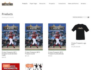 products.piratesprospects.com screenshot