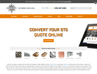 products.southerntoolsteel.com screenshot
