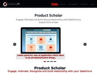 productscholar.com screenshot