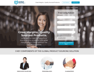 productsourcing.com screenshot