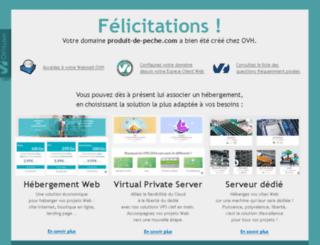 produit-de-peche.com screenshot