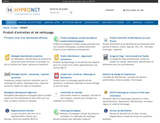 produit-nettoyage.fr screenshot