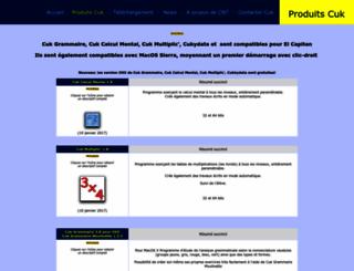 produits.cuk.ch screenshot