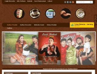 produk.tigaroet.com screenshot