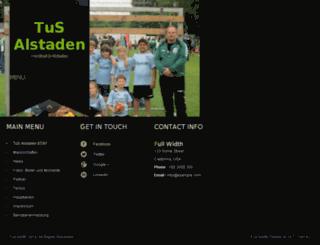 produkte.alstadener.de screenshot
